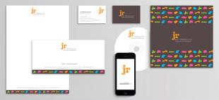Branding logo design typography stationery
