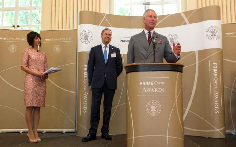 branding PRIME Cymru awards event design
